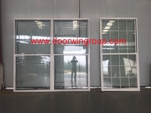 Manufacturing Price American Fashion Single/Double Hung Window with Great Heat Insulation Performance