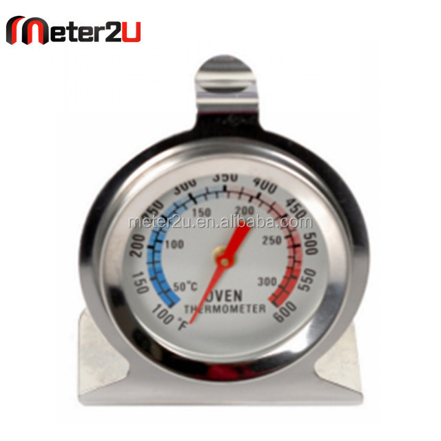 Precision Kitchen Food Meat High Heat Large Dial Stainless Steel Oven Thermometer
