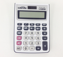 classic 8 digit button battery power calculator