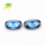 hot sales oval cut blue zircon stone price synthetic gemstone