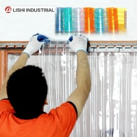 Standard normal Clear transparent PVC Strip Curtain