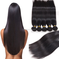 new style bCAMBODIAN virgin hair human hair Grade 7A cambodian straight 4 bundles straight hair