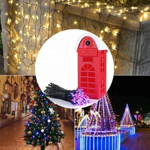 Outdoor String Lights modern Gifts Crafts Christmas holiday lighting commercial grade Festive Event Party Decorative lights