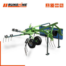 Pto Driven Hay Rake For Sale, Mini Hay Rake, Straw Hay Rake Hay Tedder