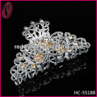 Artstar hair accessories /fashion chinese plastic flower hiar claw