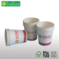 Custom Printed High Quality Single Wall Export Paper Cup Coffee Cup