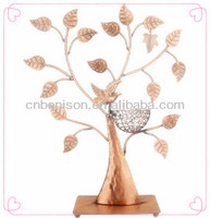 Wholesale Mannequin Metal Made Ikea Custom Clear Acrylic Hanging Fashional Jewelry Stands Display Rack With Bird Nest
