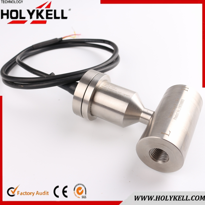 4-20ma silicon oil-filled flat membrane absolute pressure transmitter HPT708