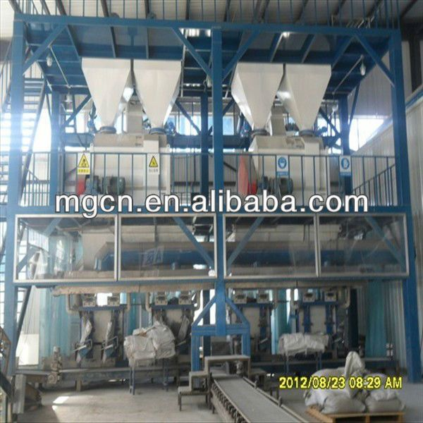MG turn key production line simple type dry mix mortar production line