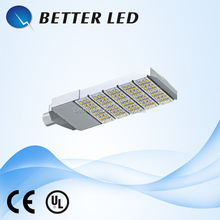 CE UL approved 150W Dimmable Module SMD Solar LED street lamp with light sensor LQ-SLC5-150W
