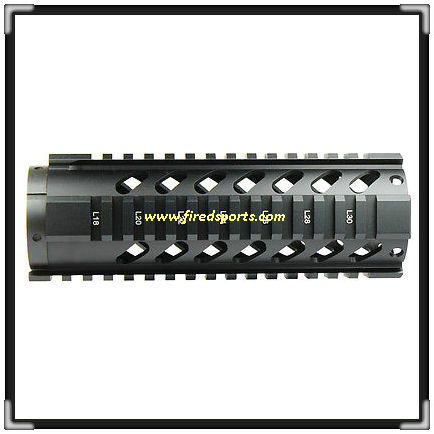 "MTS0011-7--Hot sell High Quality 7"" Carbine Length Free Float Quad guard rail Handguard mount for m4 gun"