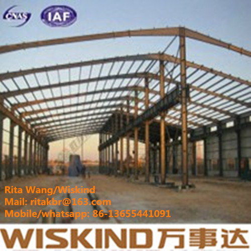 High Quality Large Portable Steel Structure Building, steel structure warehouse For Storage