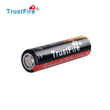 Original TrustFire lithium ion 18650 3.7v 2400mAh rechargeable battery for bicycle light