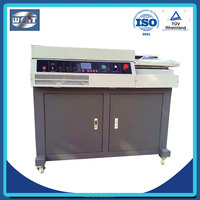 HT high speed book glue perfect binding machine price