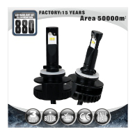 Led Auto Headlight Kit 9012 For Cars 12V High Power Fanless Car Led Headlight Bulb 9012