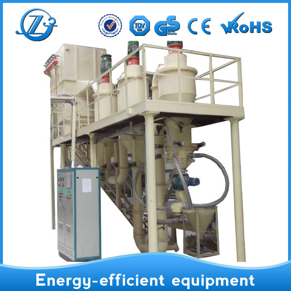 Fluidized bed jet mill for dried plants with China Manufacturer CE TUV GS