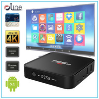 Amlogic S905 cpu Android 5.1 OS t95m Android tv box cheapest internet tv receiver box