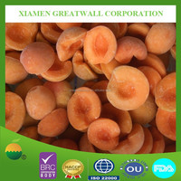 Price for frozen fruits IQF apricot halves
