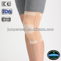 multidirectional elastic material, high grade spandex fiber combined with stretch nylon fiber, best-selling elastic knee support
