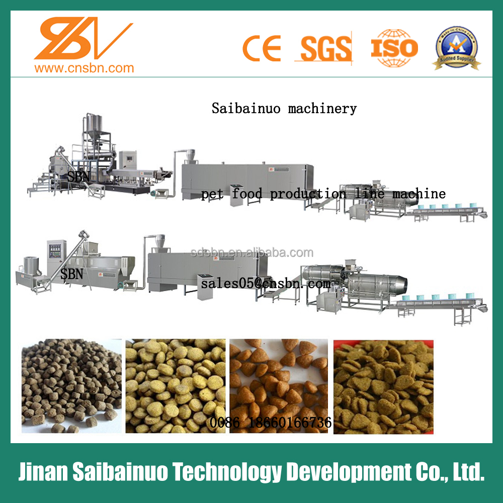 Hot Sale China Automatic animal feed production line