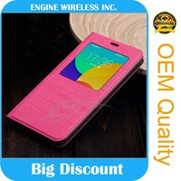 order from china direct leather flip case for lenovo a3500 new products 2015
