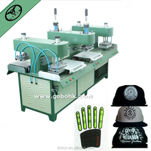 3D Multi-coloured and durable silicone trademark forming machine