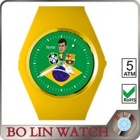 2014 kids watch/cheap/sport/swiss original silicon material/3 ATM or 5 ATM/japan movement, wrist watch plastic cases