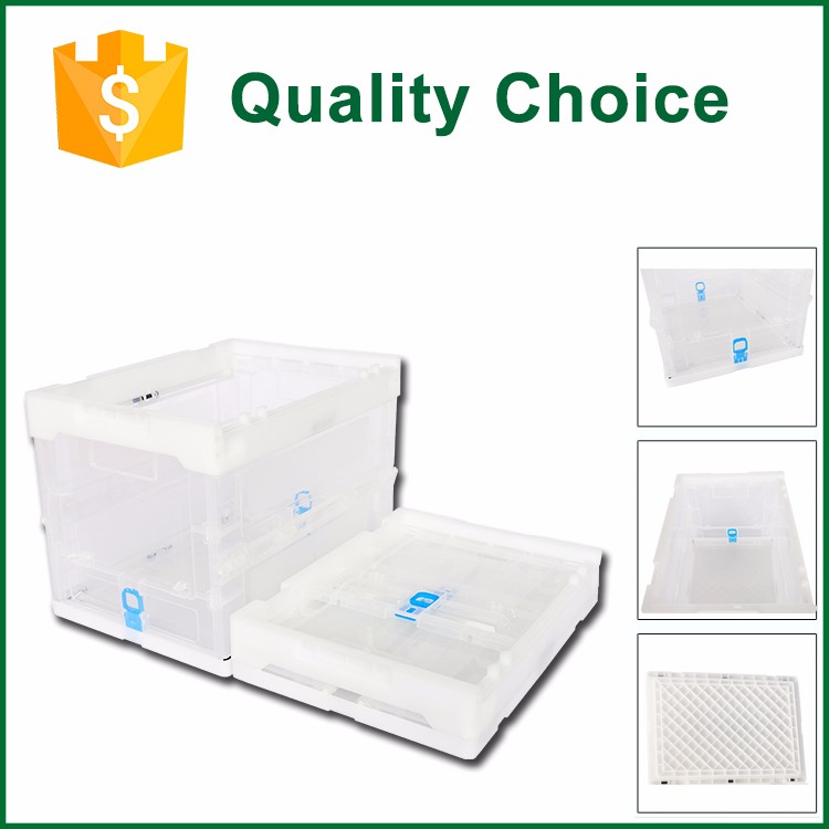 Food Grade Plastic Collapsing Vegetable Crates
