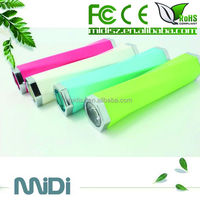 New products 2013 2600mah powerbank! mini portable charger harga power bank for tabelet pc phone