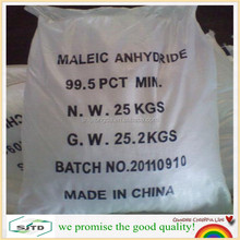 Maleic Anhydride (MA) 99.5% for for producing polyester resin and paper agent