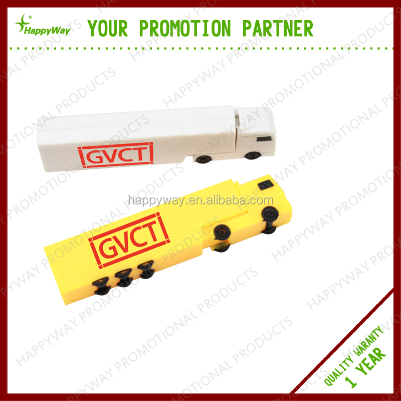 Pomotional Truck Shape USB Flash Drives 4 GB, MOQ 100 PCS 0504013 One Year Quality Warranty