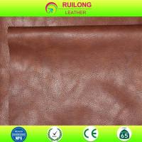Best Quality classical pu sofa leather cover material black