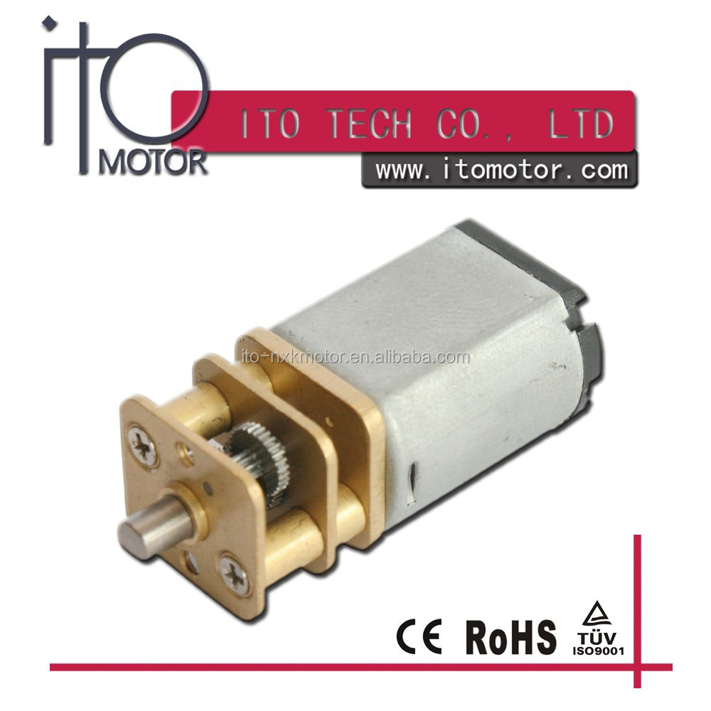 12mm low noise mini 3v geared dc motor