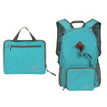 2017 new sports design ultralight waterproof nylon foldable backpack with headphone hole