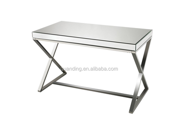 2015 modern luxury wooden console table with mirror