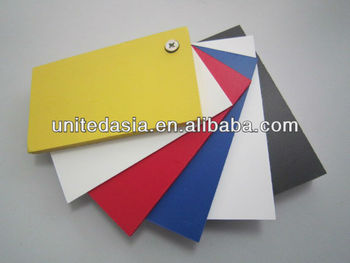 Color PVC Foam Sheet(1.0mm-30mm)