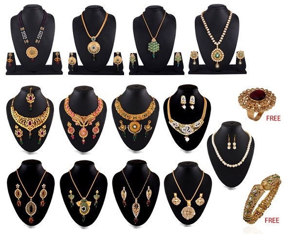 Anmol 1 Gram Gold Plated Jewellery Collection