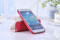 New Arrival 360 DEGREE Rotating leather& Standing case cover for samsung galaxy S4