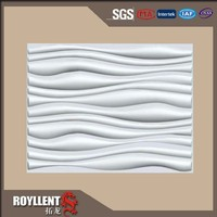 wall cladding 3d wallpaper fiber cement board