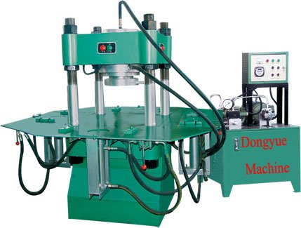 DY150T manual interlock brick machine price with hydraulic press