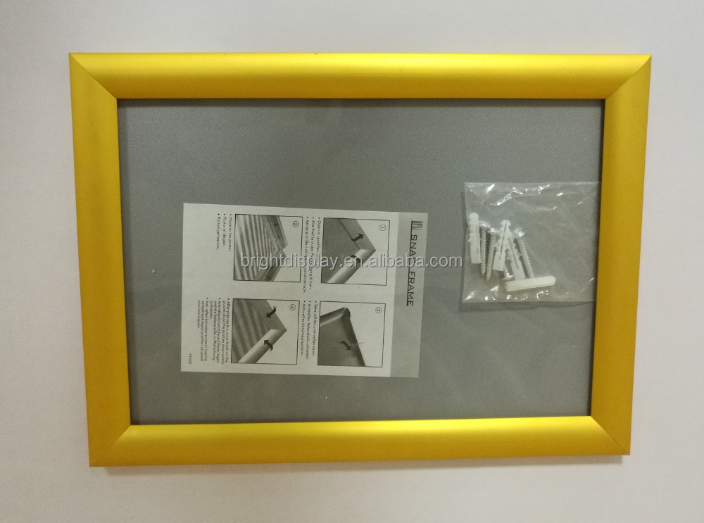 A1/A2/A3/A4 black/silver/gold <strong>poster</strong> <strong>frame</strong>, aluminum picture <strong>frame</strong>,snap <strong>frame</strong>