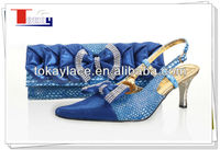 sexy royal blue italian wedding shoes woman 2013