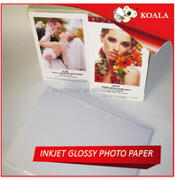 Soft silky inkjet resin coated photo paper 260g Factory supply