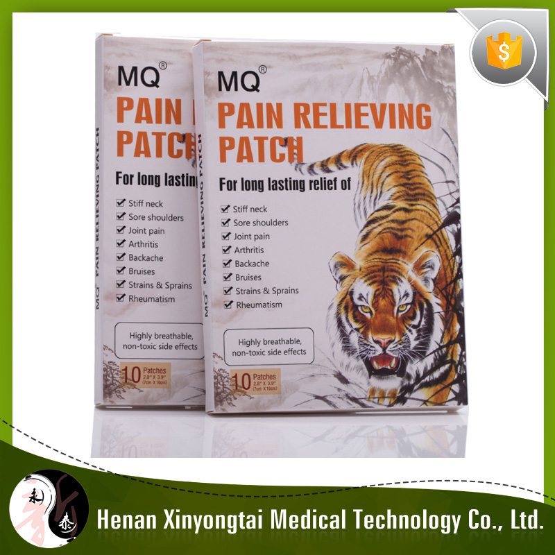 Chinese medicine herbal pain relief patch