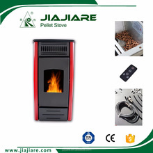 2016 new design double doors pellet stove