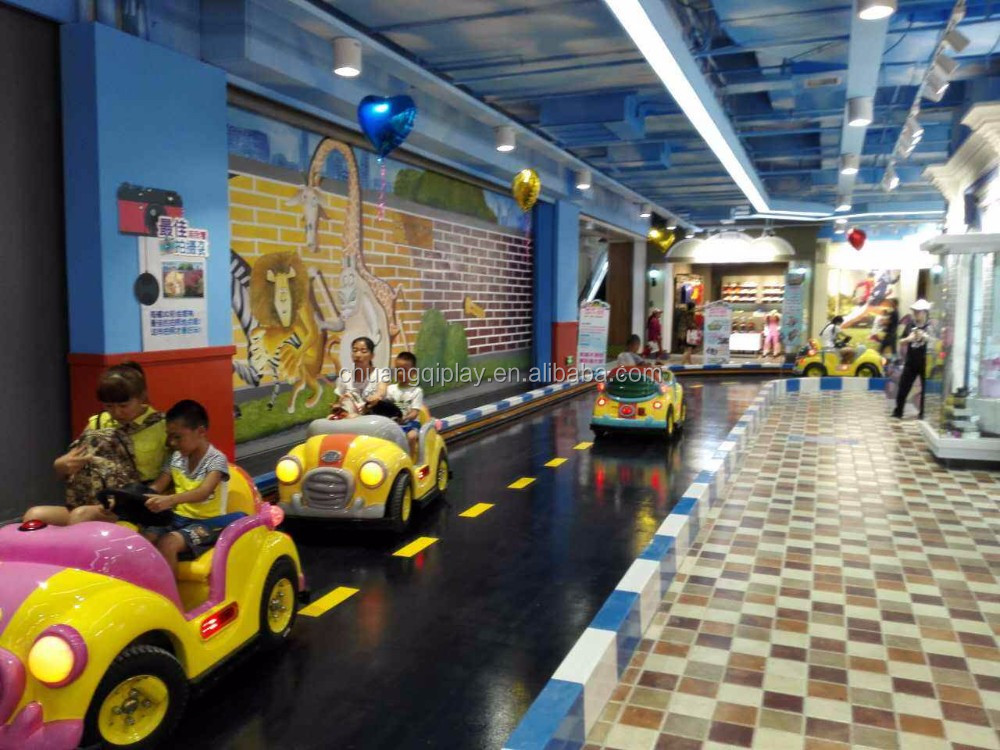 Indoor theme amusement rides Driving School Educational game for FEC for kids and parents