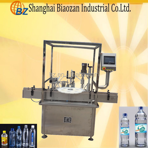 New Condition and Wood Packaging Material automatic bottle filling machine/small bottle filling machine