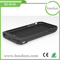 For iphone 6 battery charging power case 6800mah rechargeable