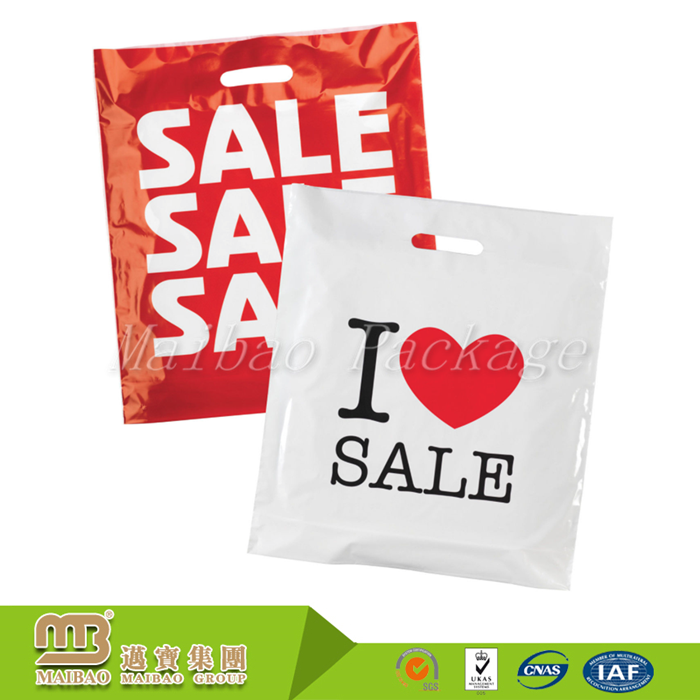 Guangzhou Manufacturers Wholesale PE/LDPE 100% Biodegradable Custom Printing Shopping Plastic Bags With Own Logo