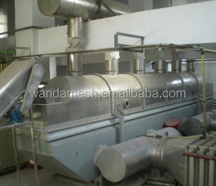 ZLG China dry bed machine / vibrating fluid bed dryer / coating machine fluid bed